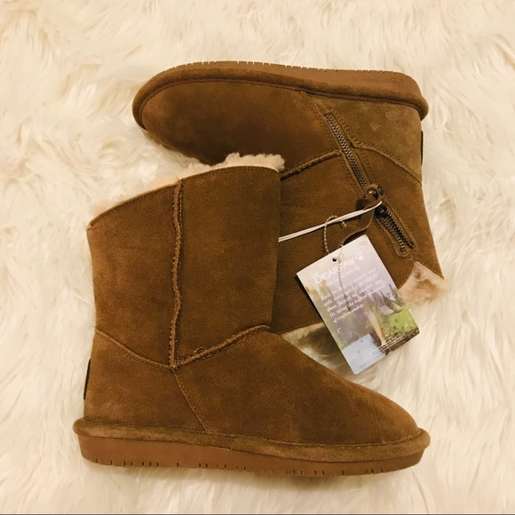 BearPaw Shoes   Tressa Suede Boots